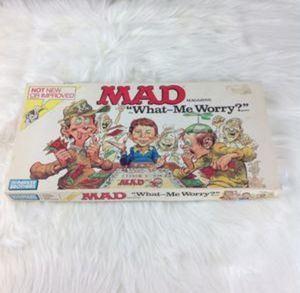 VTG Parker Brothers MAD Magazine Board Game for Sale in Phoenix, AZ
