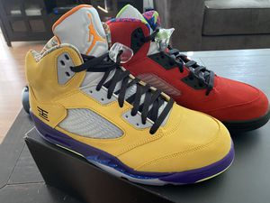 "Jordan 5 Retro ""What The"" Size 12 for Sale in Rowland Heights, CA"