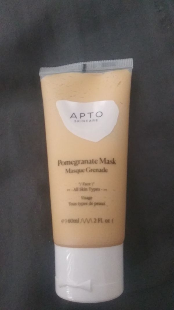 AptO facial mask for all skin types