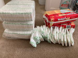 New newborn diapers over 220 Huggies for Sale in Arvin, CA