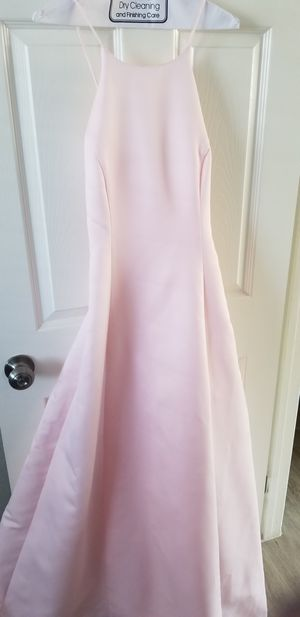 Light pink gown dress prom wedding special occasion for Sale in San Diego, CA
