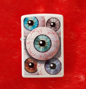 Eyeballs Zippo Lighter for Sale in Ontario, CA
