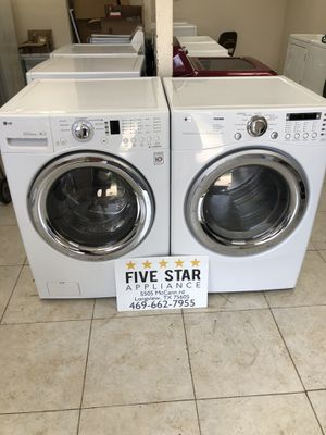 LG Washer And Matching Electric Dryer Set for Sale in Longview, TX