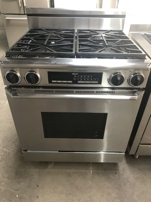 30in dacor range like new gas and electric 220 warranty for Sale for sale  Clifton, NJ