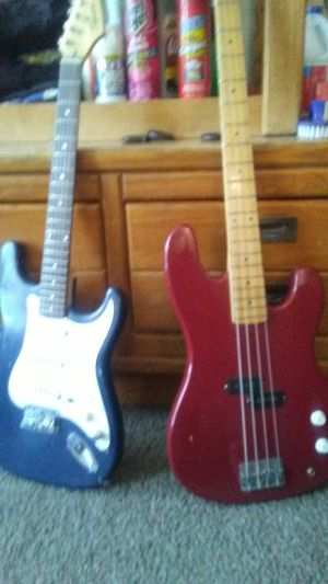 Squirt guitar and bass for Sale in Salt Lake City, UT