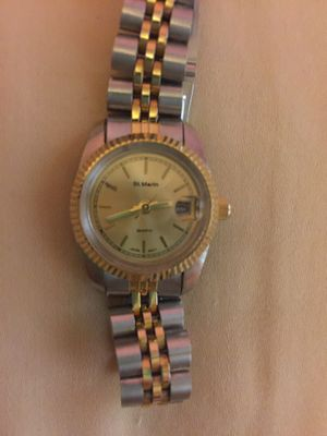 VINTAGE ST MARIN LADIES WATCH CLASSIC ELEGANCE for Sale in Minneapolis, MN