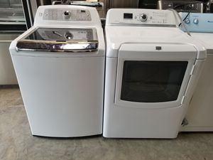 KENMORE WASHER AND MAYTAG DRYER for Sale in Houston, TX