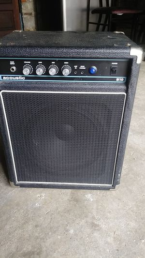 Acoustic B10 bass guitar amp for Sale in Chicago, IL