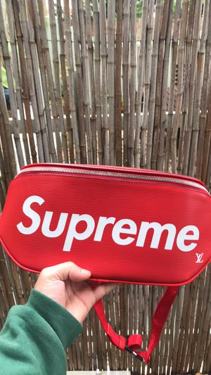 Supreme x LV waist bag (fanny pack) for Sale in Miami Beach, FL
