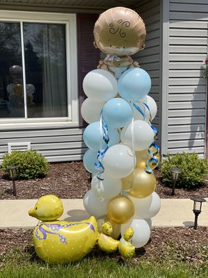 Baby shower balloon column for Sale in Elgin, IL