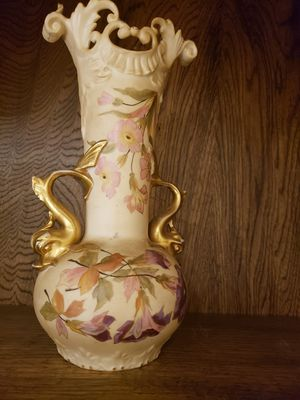 Rudoldstadt vase antique for Sale in Traverse City, MI