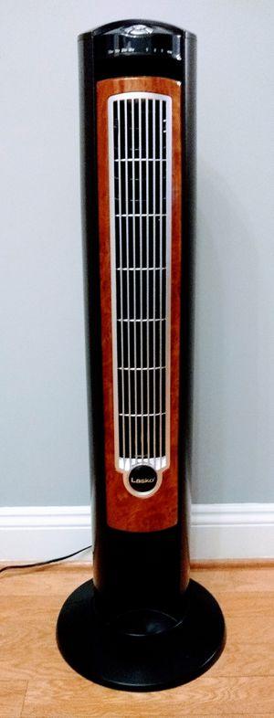 Lasko 42 inch Oscillating Tower Fan w/remote and air ionizer for Sale in Washington, DC