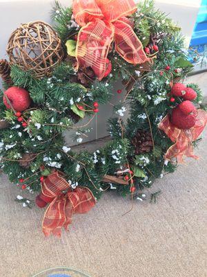 Christmas Door Wreath for Sale in Fountain, CO