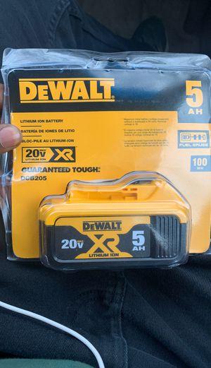 Dewalt drill battery for Sale in Philadelphia, PA