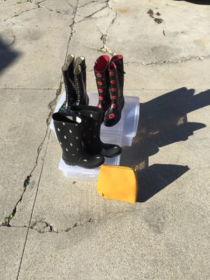 Rain Boots size 7&8 for Sale in View Park-Windsor Hills, CA