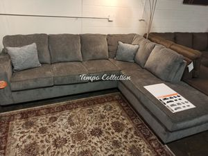 Transitional Sectional Sofa, Light Grey, SKU# ASH87214TC for Sale in Santa Fe Springs, CA