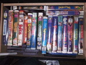 Disney VHS collection lot for Sale in Las Vegas, NV