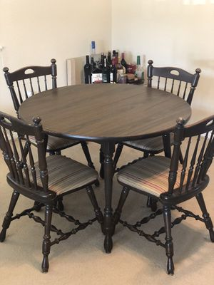 """Wooden Dining set 42"""" round for Sale in Williamsville, NY"""