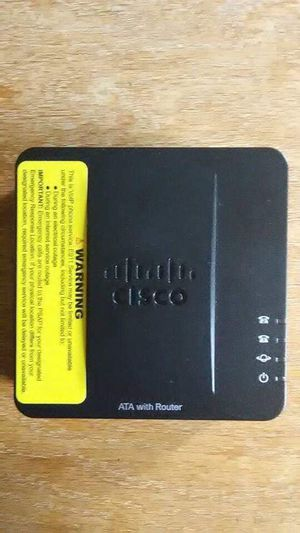 Cisco SPA122 Small Business ATA Router w/ 40ft. and 6ft RJ45 for Sale in Tazewell, VA