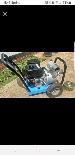 Hydraulic trash pump for Sale in Mabelvale, AR