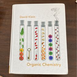 Organic Chemistry by David Klein for Sale in Mentor,  OH