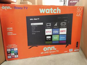 "50"" ONN ROKU TV 4K UHD HDR SMART TV for Sale in Colton, CA"