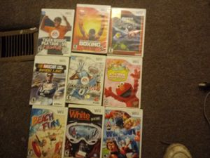 11 complete Nintendo wii games for Sale in Akron, OH