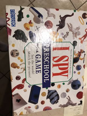 I spy puzzle game for Sale in Tampa, FL
