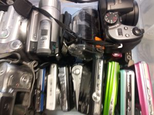 Bulk of 50 digital cameras for Sale in Indianapolis, IN