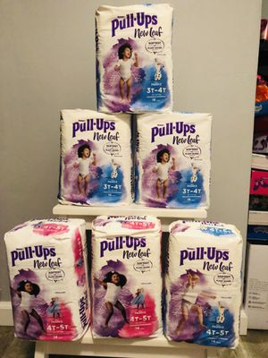$40 for 6packs of Huggies diapers it's size 3t-4t and 4t-5t it's all brand new and pick up Gahanna for Sale in Gahanna, OH