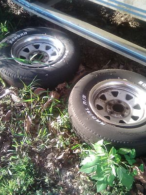 Four Chevy rims(tires no good on 3)$75 obo for Sale in Loxahatchee, FL