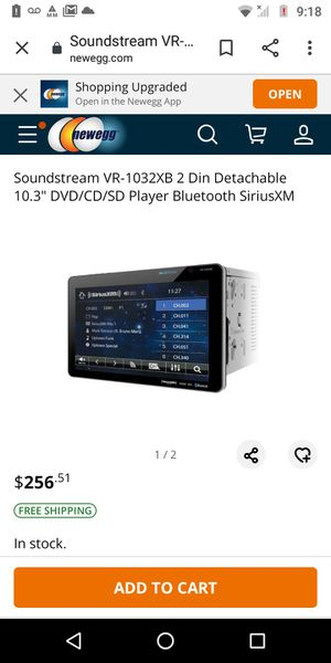 Sound Stream 10.3 for Sale in Fort Worth, TX