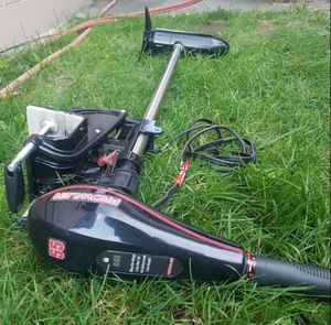Trolling motor - only used once for Sale in Tacoma, WA