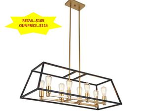 Carter 8-Light Black Chandelier by ARTIKA NEW for Sale in Fort Lauderdale, FL