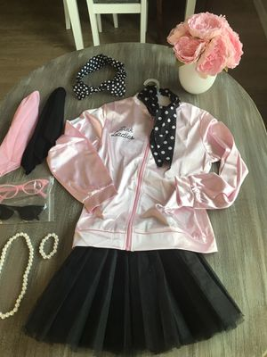 50s girls Dress with TuTu skirt with all the accessories size L (10-12) (good for use at Disneyland) or costume party) for Sale in Pomona, CA