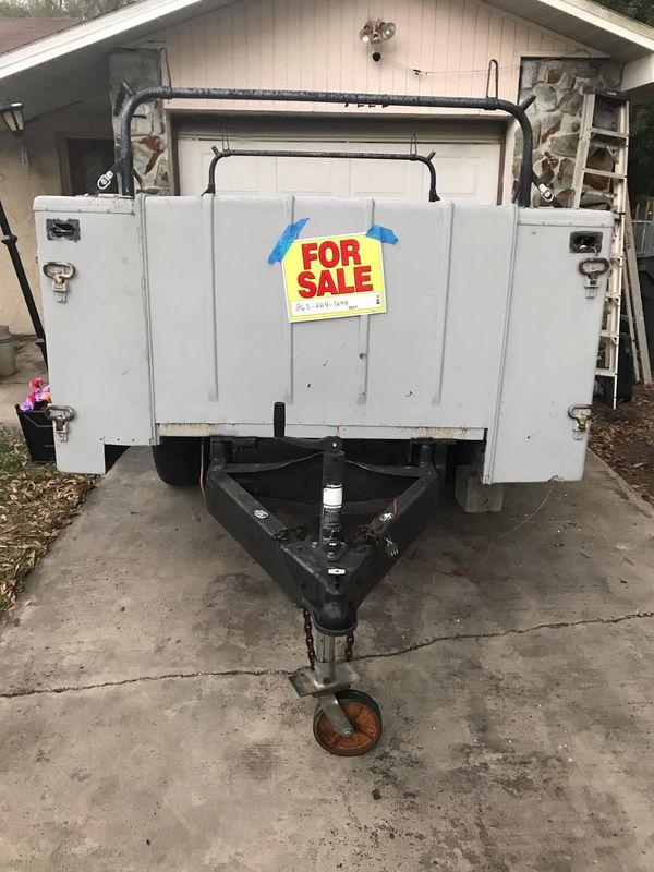 Fiberglass utility trailer for sale for Sale in Bartow, FL ...