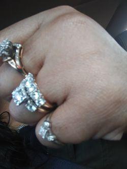 3k diamond wedding ring size8 for Sale in Northwest Plaza,  MO