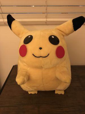 "PIKACHU 1999 Vintage Pokemon Plush Collectible 19"" VERY RARE for Sale in Santa Monica, CA"