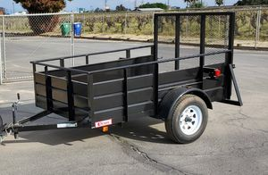 2020 Heavy duty trailer 5'x8' for Sale in Tulare, CA