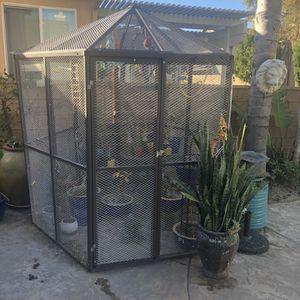 Bird Cage aviary for Sale in Corona, CA