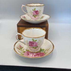 Royal Albert American Beauty Tea Set for Sale in Huntington Beach, CA
