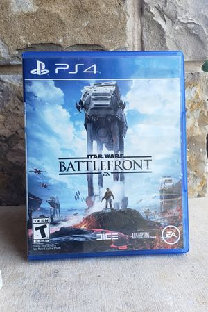 Star Wars Battlefront PS4 for Sale in Fort Worth, TX