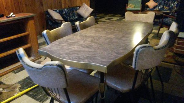 Midcentury beautiful dining set