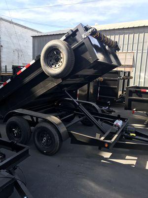 Brand new 8x10x2 dump trailer for Sale in San Dimas, CA