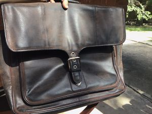 Vintage Orvis Leather Briefcase/Messenger Bag for Sale in Houston, TX