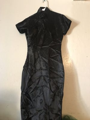Chinese black dress for Sale in Hayward, CA