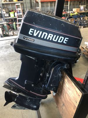1989 90 hp evinrude Outboard for Sale in Norco, CA