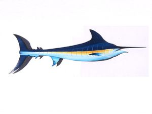 Marlin hand carved from palm tree frond for Sale in Fort Pierce, FL