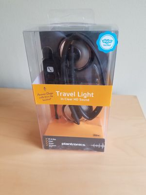 PLANTRONICS AUDIO 478 PC STEREO USB HEADSET- BRAND NEW! for Sale in Wheeling, IL