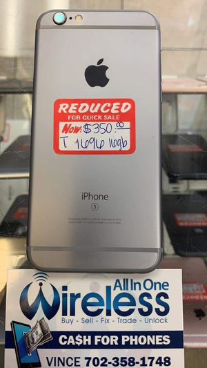 IPHONE 6S UNLOCKED NOW ONLY for Sale in Las Vegas, NV